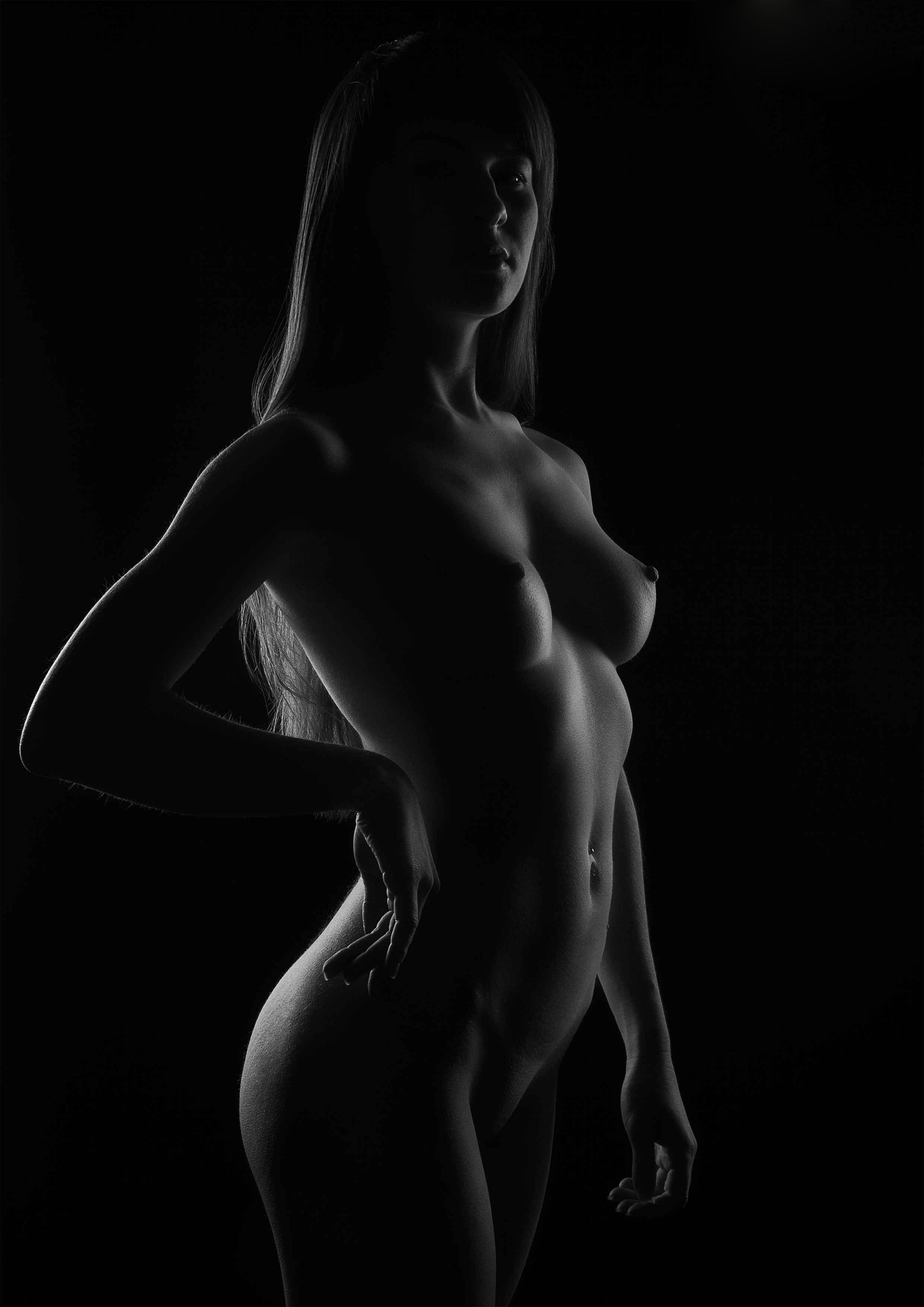 Эротические черно белые частные фото девушек, пьяная теща порно