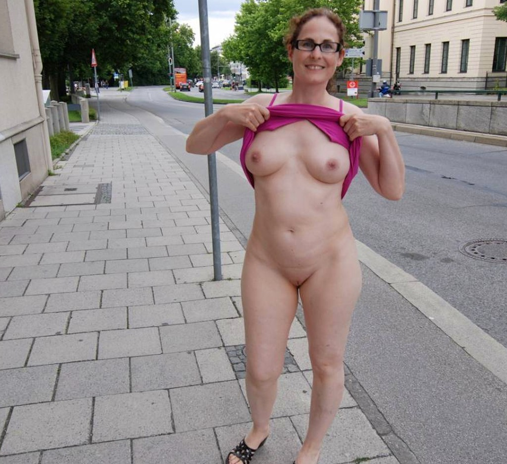Granny Flashing And Mature Brazens Public Nudity With Skinny Old Exhibitionists