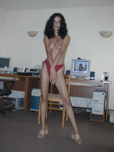 Худая красотка Адриана - фото #24