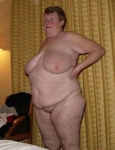 Пожилые толстухи - фото #18