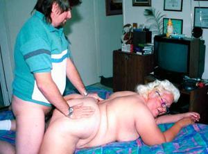 Пожилые толстухи - фото #9