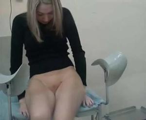 На реальном приеме гинеколога
