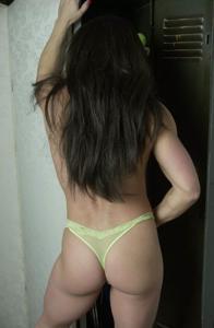 Зрелая фитоняха Джулия - фото #17