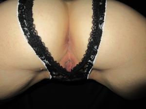 Белокурая Катрина в сексуальном наряде - фото #11