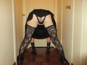 Белокурая Катрина в сексуальном наряде - фото #2