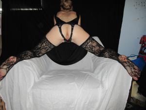 Белокурая Катрина в сексуальном наряде - фото #9