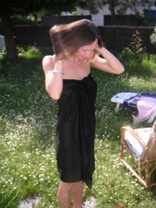 Худая француженка в разном белье и без оного - фото #45