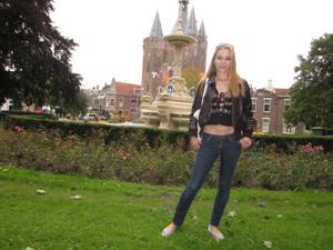 Хорошенькая блондинка из Нидерландов - фото #13