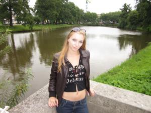 Хорошенькая блондинка из Нидерландов - фото #22