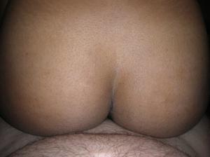 Красивой негритянке сперма попала в нос - фото #9