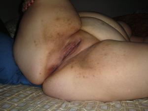 Гладкая пизда жирной бабы