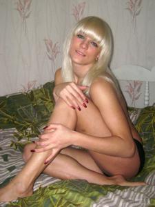 Эро фото блондинки Ани - фото #10