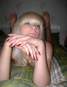 Эро фото блондинки Ани - фото #19