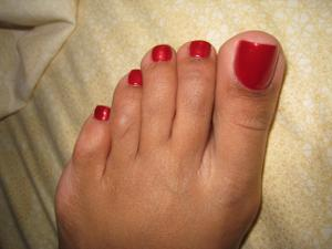 Обкончал жене пальцы ног - фото #1
