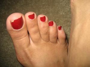 Обкончал жене пальцы ног - фото #12