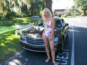 Зрелая Ленна в бикини и без - фото #15