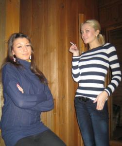 Групповушка с русскими подружками