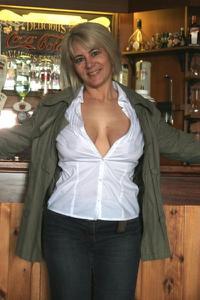 Зрелая блондинка Дана - фото #27