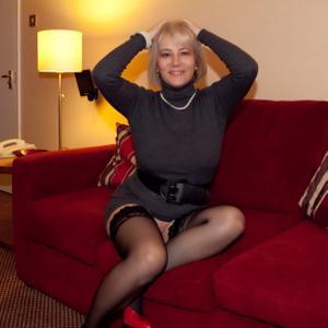 Зрелая блондинка Дана - фото #34