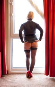 Зрелая блондинка Дана - фото #36