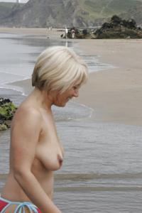 Зрелая блондинка Дана - фото #9
