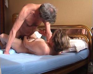 Порно старой пары - фото #12