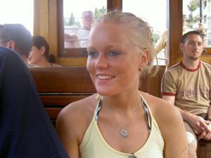 Красивая улыбка немки - фото #20