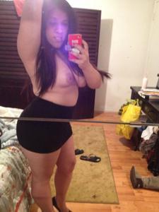 Мясистая киска латинской женщины - фото #1