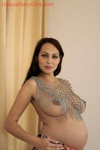 Красивая пизда беременной женщины - фото #2