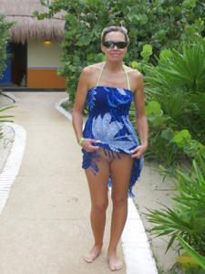 Летом, многие девушки трусики не носят - фото #25