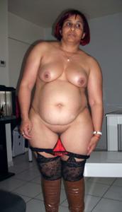 Оголение толстой арабки - фото #6
