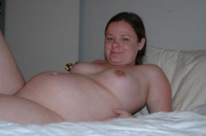 Подборка откровенных фото с голыми беременными девушками - фото #45