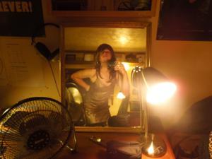 Легкий стриптиз пьяненькой девушки - фото #39