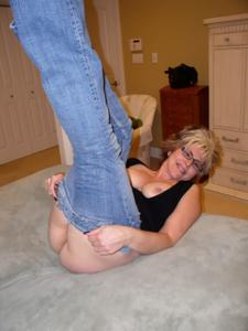Крупные сиськи взрослой женщины - фото #5