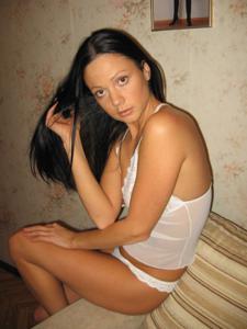 Стройная Кристина в нижнем белье - фото #16