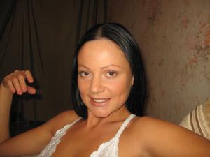 Стройная Кристина в нижнем белье - фото #20