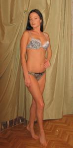 Стройная Кристина в нижнем белье - фото #21