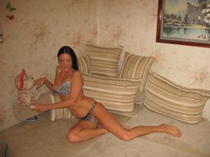 Стройная Кристина в нижнем белье - фото #26