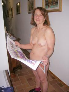 Зрелая итальянка Даниэла - фото #24