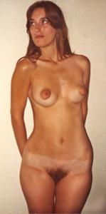 Ретро фото телки с прикольными сосками - фото #25
