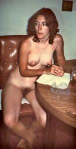 Ретро фото телки с прикольными сосками - фото #36