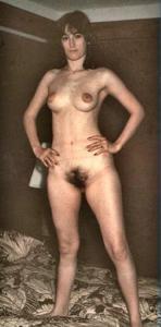 Ретро фото телки с прикольными сосками - фото #43