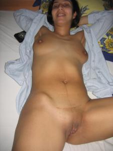 Арабская киска с обвисшей грудью - фото #41
