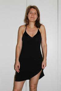 Голая женщина со стоячими сосками - фото #13