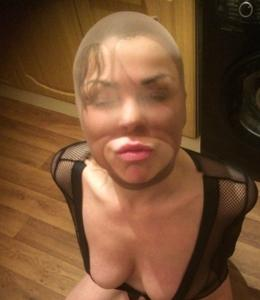 Блондинка фетишистка - фото #10