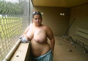 Голая женщина в теле