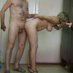 Алена шалит с мужем