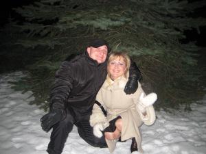 Алена шалит с мужем - фото #8