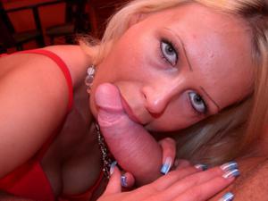 Блондинка любит сперму - фото #23
