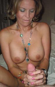 Дама с силиконом любит сперму - фото #14